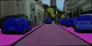 Cityscapes Dataset: Example Saarbrücken 1