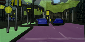 Cityscapes Dataset: Example Saarbrücken 2