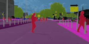 Cityscapes Dataset: Example Ulm